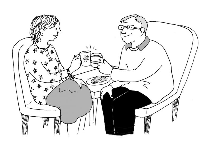 Read more about the article Being present in lockdown with someone living with dementia